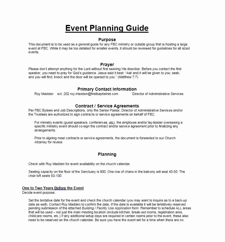 Event Planning Contract Template Beautiful 50 Professional event Planning Checklist Templates