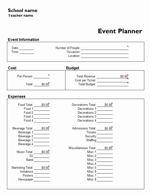 Event Planning Template Word Elegant Useful Microsoft Word & Microsoft Excel Templates Hongkiat