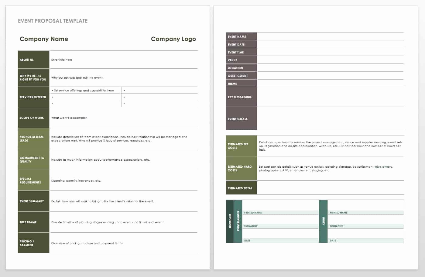 Event Planning Template Word Fresh 21 Free event Planning Templates