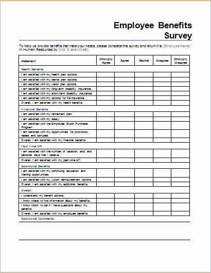 Event Survey Template Word New 8 Survey form Templates for All Businesses