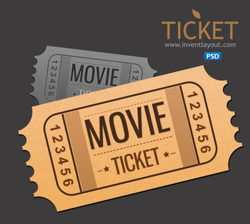 Event Ticket Template Photoshop Awesome 18 event Ticket Templates Psd Psdtemplatesblog