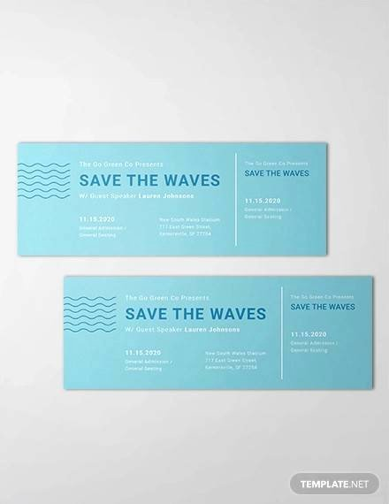 Event Ticket Template Photoshop Awesome Free 38 Sample Amazing event Ticket Templates In