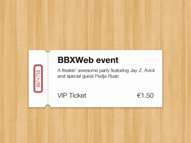 Event Ticket Template Photoshop Fresh 15 Free event Ticket Mockups Psdtemplatesblog