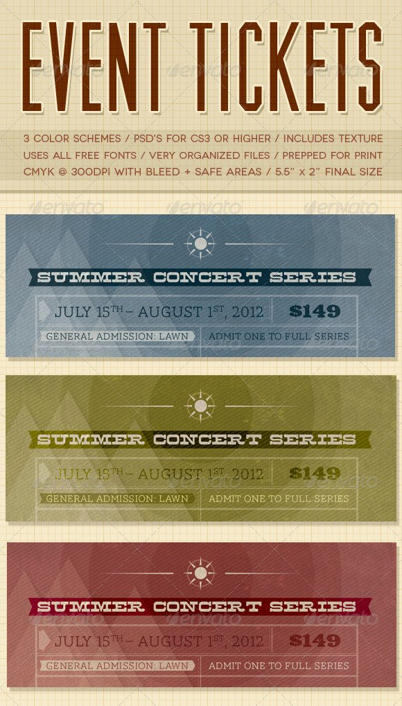 Event Ticket Template Photoshop Luxury Free Admission Ticket Template