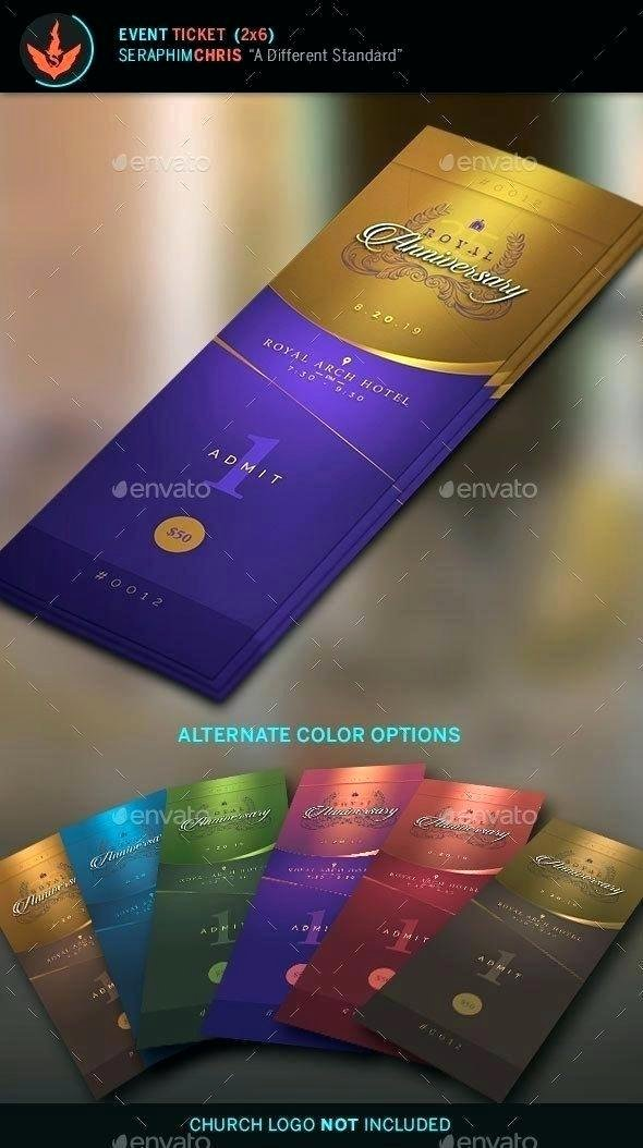 Event Ticket Template Photoshop New event Ticket Template Photoshop