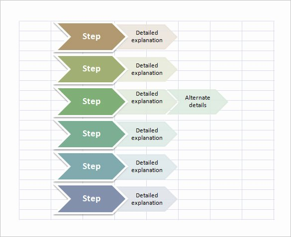 Excel Flow Chart Templates Beautiful 40 Flow Chart Templates Free Sample Example format
