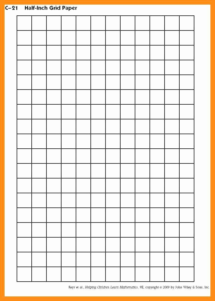 Excel Graph Paper Template Beautiful 10 11 Grid Paper Template for Excel