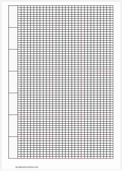 Excel Graph Paper Template Beautiful Cross Stitch Graph Papers for Ms Word