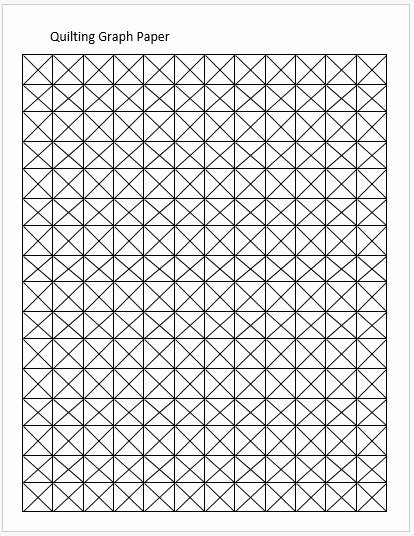 Excel Graph Paper Template Inspirational Quilting Graph Papers for Ms Word