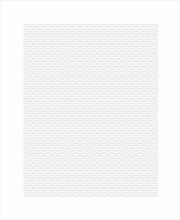 Excel Graph Paper Template Lovely Sample Triangular Graph Paper Template 9 Free Documents