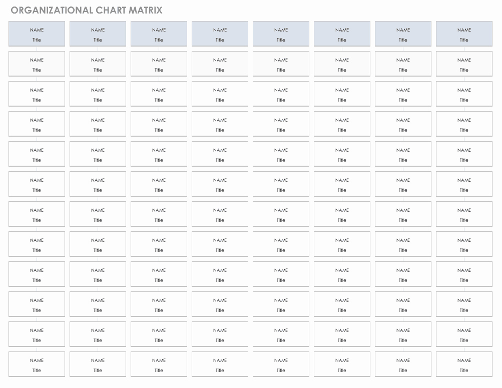 Excel org Chart Template New Free org Chart Templates for Excel