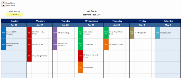 Excel Task Tracker Template Inspirational Excel Task Tracker Template
