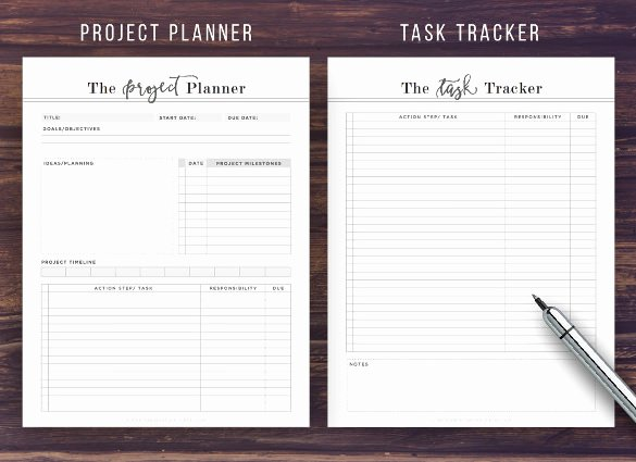 Excel Task Tracker Template Unique Task Tracking Template – 10 Free Word Excel Pdf format