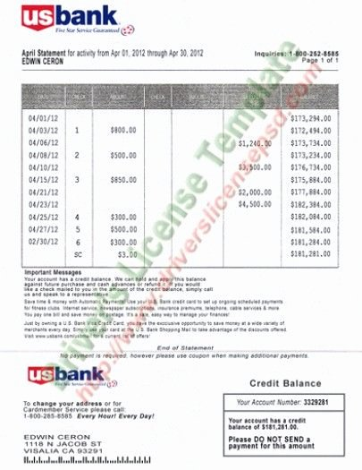 Fake Credit Report Template Awesome Drivers License Fake Drivers License Drivers License