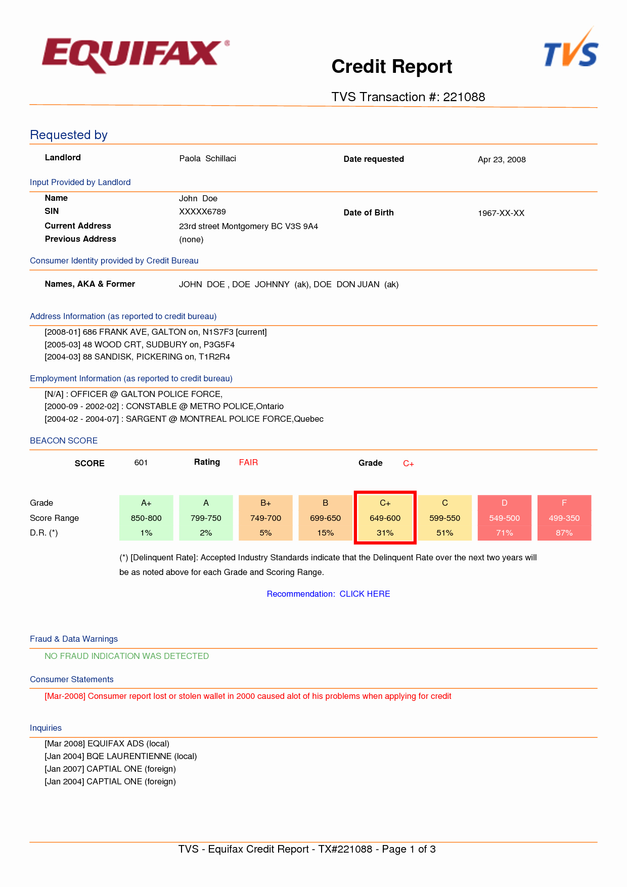 Fake Credit Report Template Awesome Index Of Cdn 12 1995 982