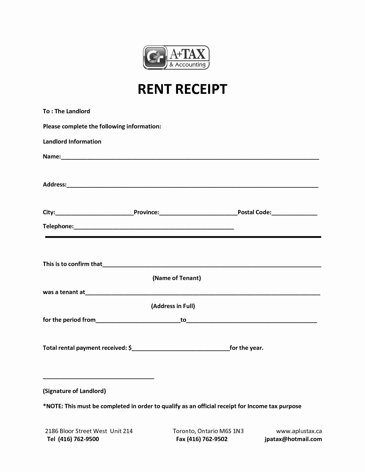 Fake Credit Report Template Elegant Free Rental Receipt Template Word – Rent Receipt