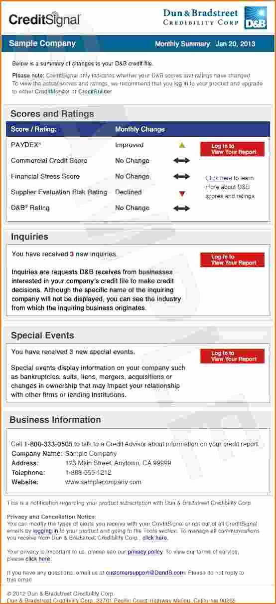 Fake Credit Report Template Lovely Fake Credit Report Template