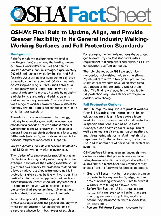 30 osha fall protection plan template