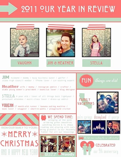 Family Christmas Letter Template Lovely Family Holiday Newsletter Templates Christmas Letters