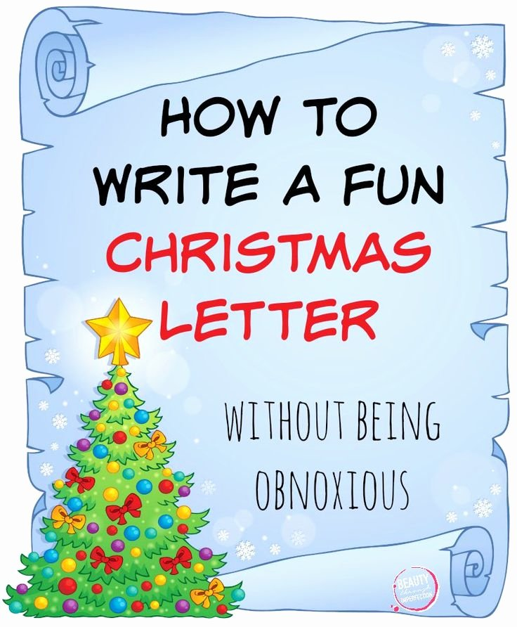 Family Christmas Letter Template Luxury 17 Best Images About Christmas Letter Ideas On Pinterest