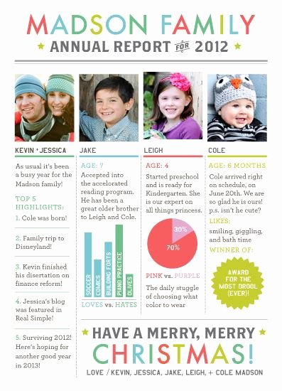 Family Christmas Letter Template New Best 25 Christmas Newsletter Ideas On Pinterest