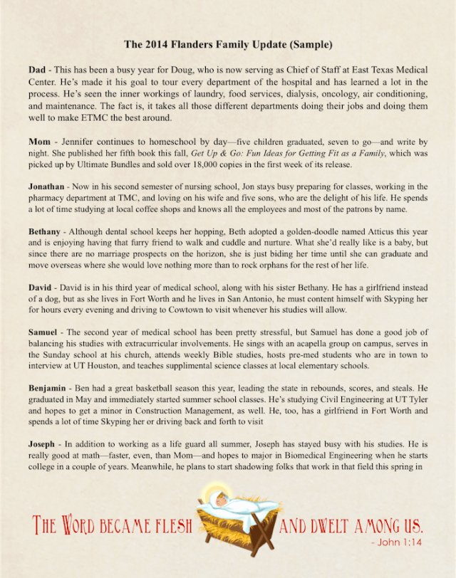 Family Christmas Letter Template New Christmas Letters Patterns Samples and Templates