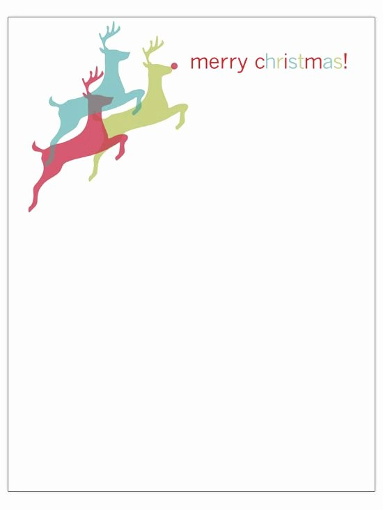 Family Christmas Letter Template Unique Free Christmas Letter Templates Diy