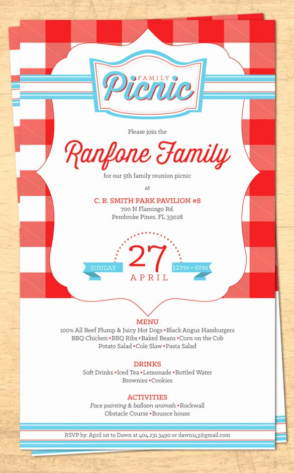 Family Reunion Flyer Template Best Of 32 Family Reunion Invitation Templates Free Psd Vector