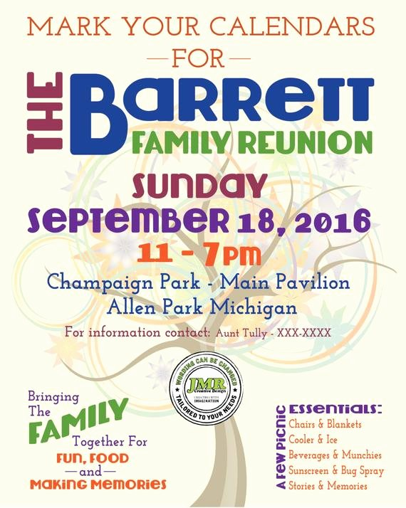 Family Reunion Flyer Template Inspirational Items Similar to Family Reunion Flyer Save the Date Tree