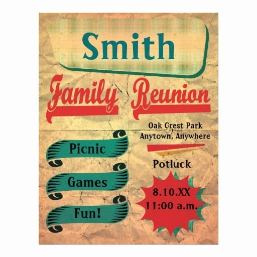Family Reunion Flyer Templates New 19 Best Helpful Hints Images On Pinterest