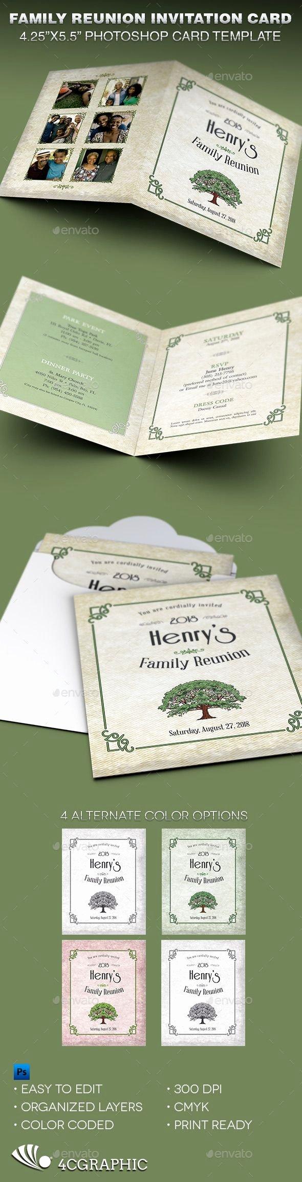 Family Reunion Invitation Templates Free Best Of 17 Best Ideas About Family Reunion Invitations On