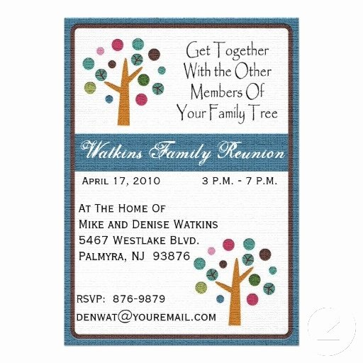 Family Reunion Invitation Templates Free Inspirational 17 Best Images About Family Reunion On Pinterest