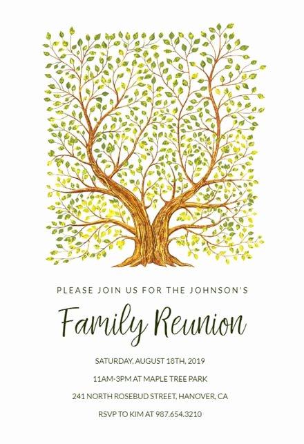 Family Reunion Invitation Templates Free New Family Reunion Invitation Templates Free