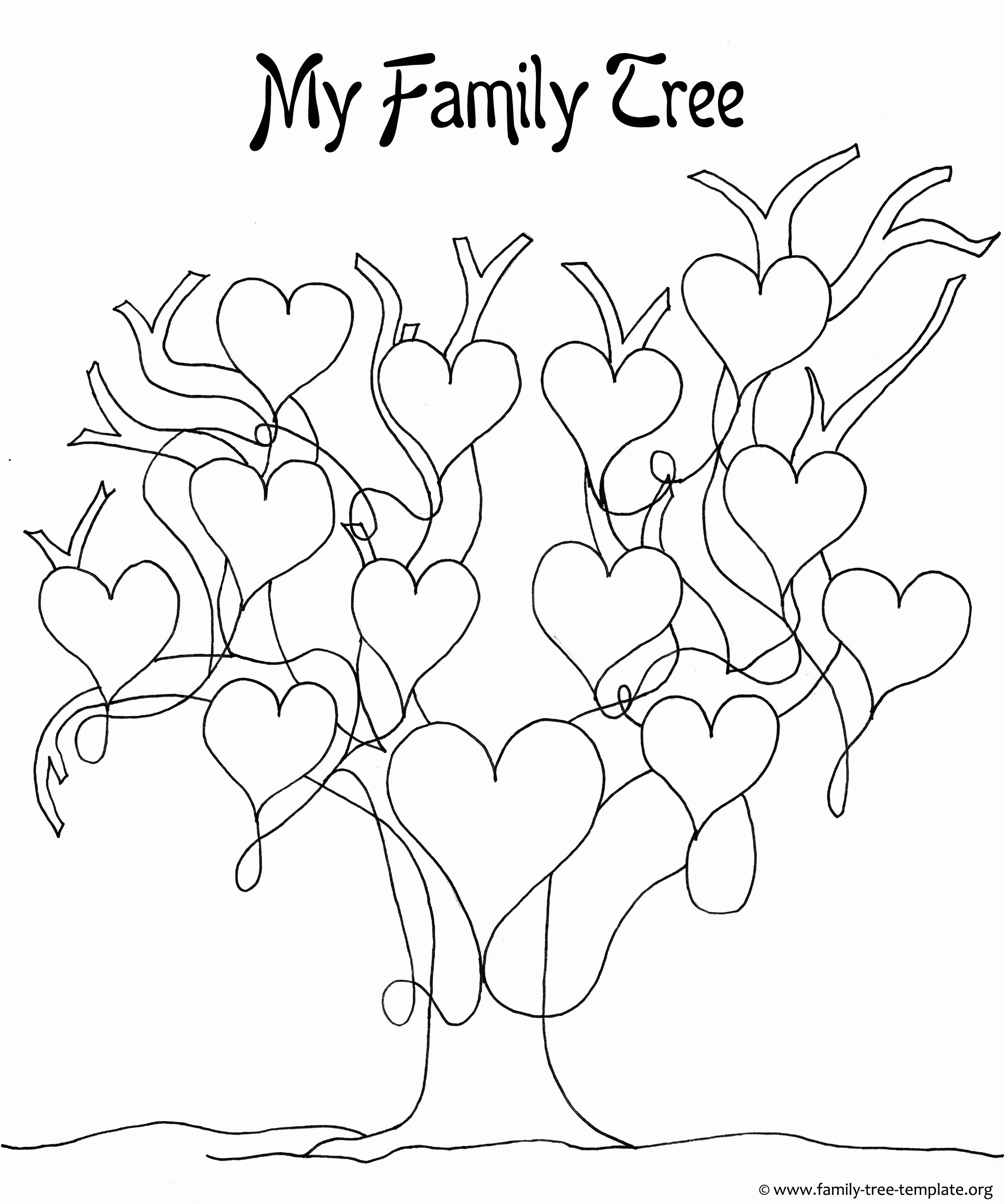 Family Tree Template Free Best Of A Printable Blank Family Tree to Make Your Kids Genealogy