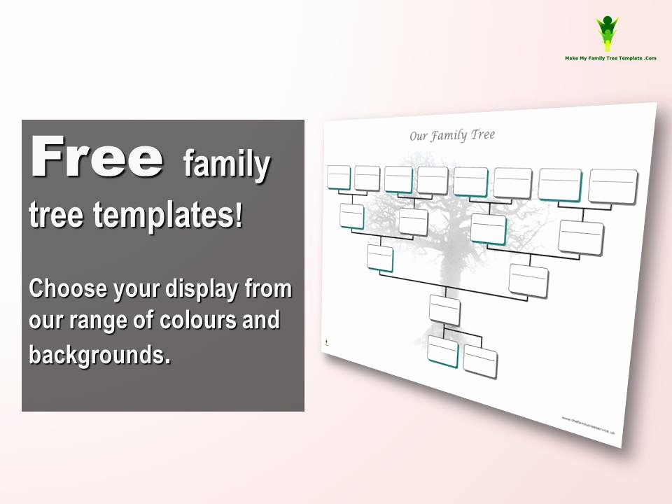 Family Tree Template Free Inspirational Free Editable Family Tree Template Word