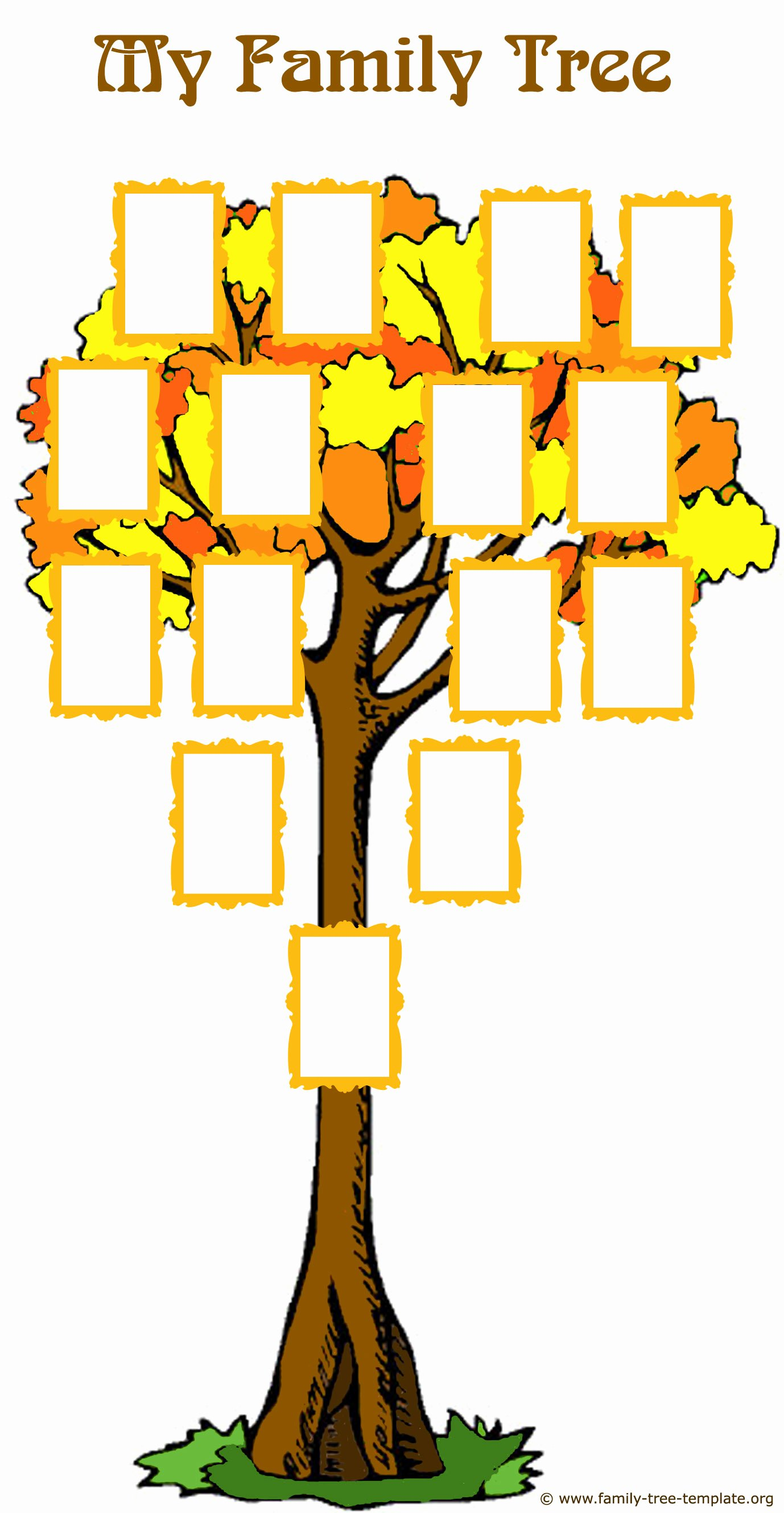 Family Tree Template with Photos Best Of Fabulous Family Tree forms and Easy Genealogy Methods