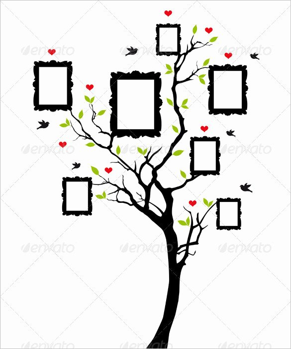 sample photo family tree