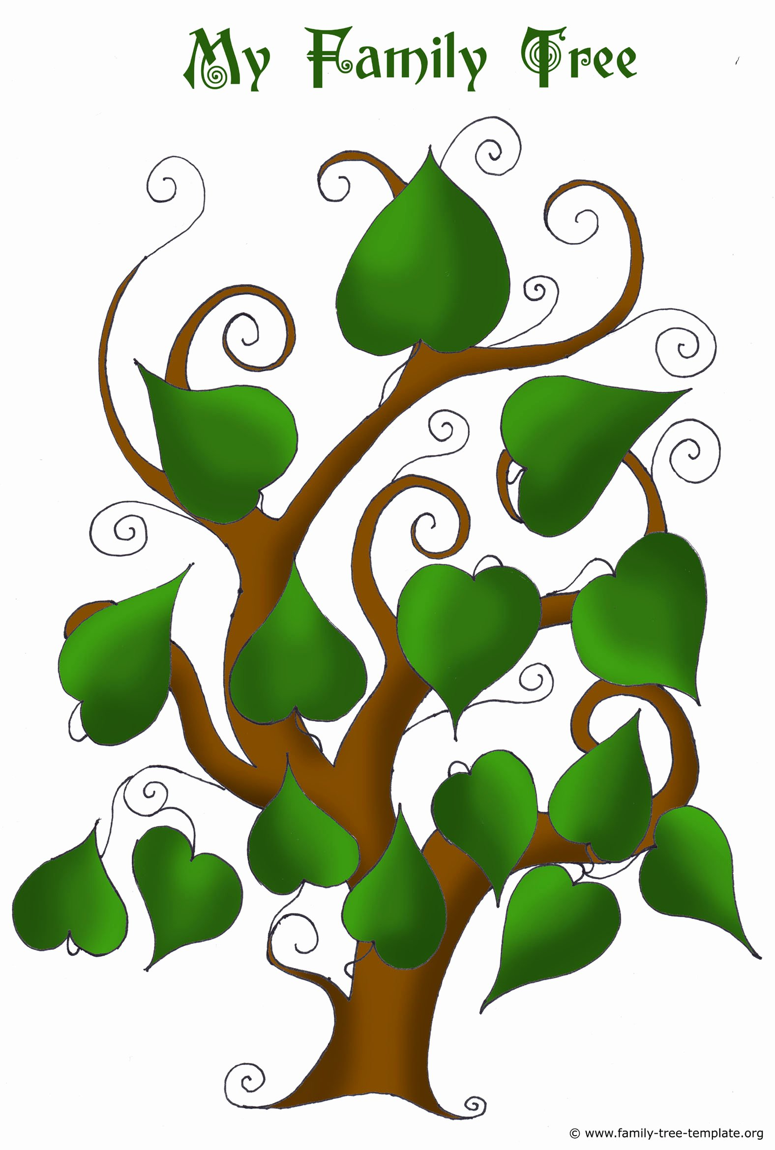 Family Tree Template with Photos Inspirational Free Family Tree Templates Using Free Ancestry