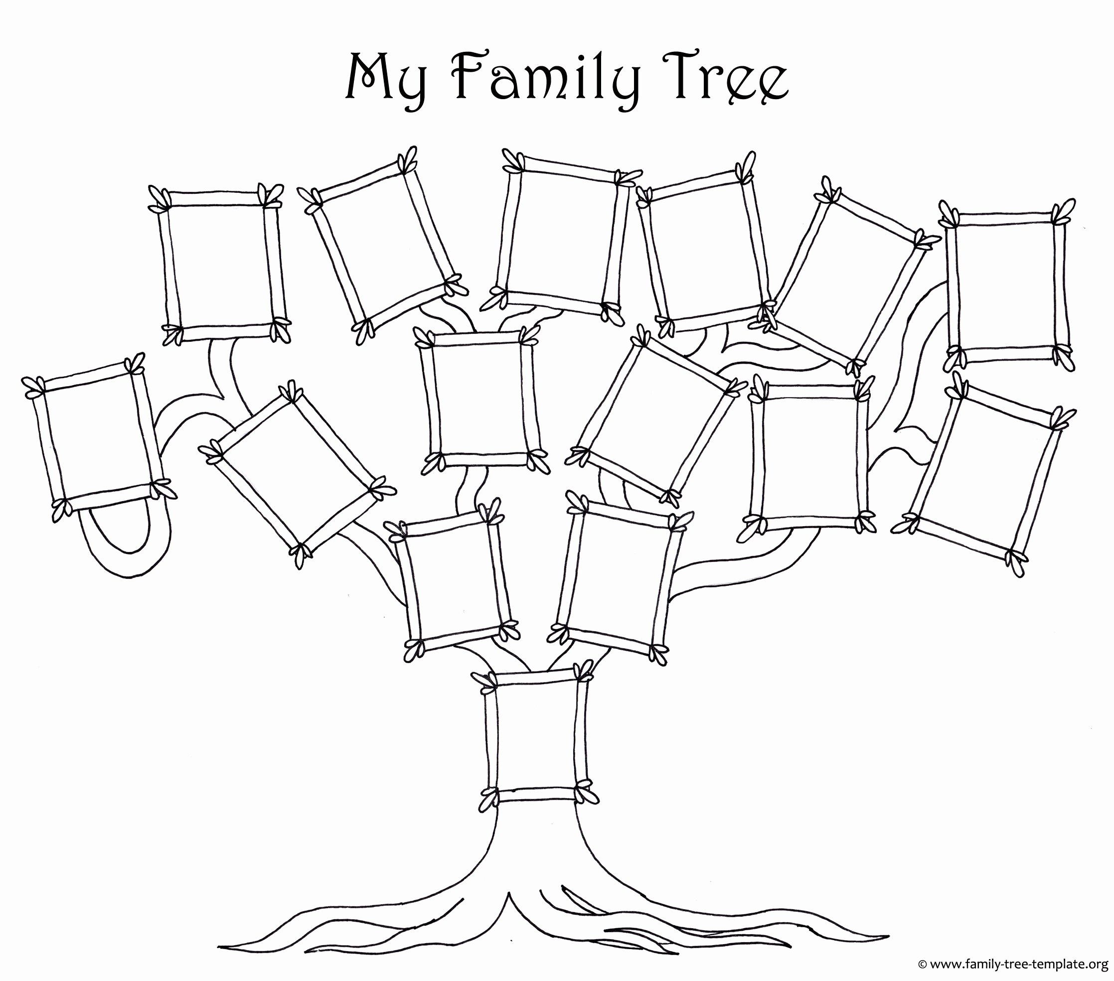 Family Tree Template with Photos Lovely Free Family Tree Template Designs for Making Ancestry