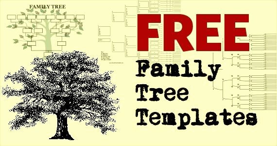 Family Tree Template with Photos Lovely Free Family Tree Template Printables 247moms