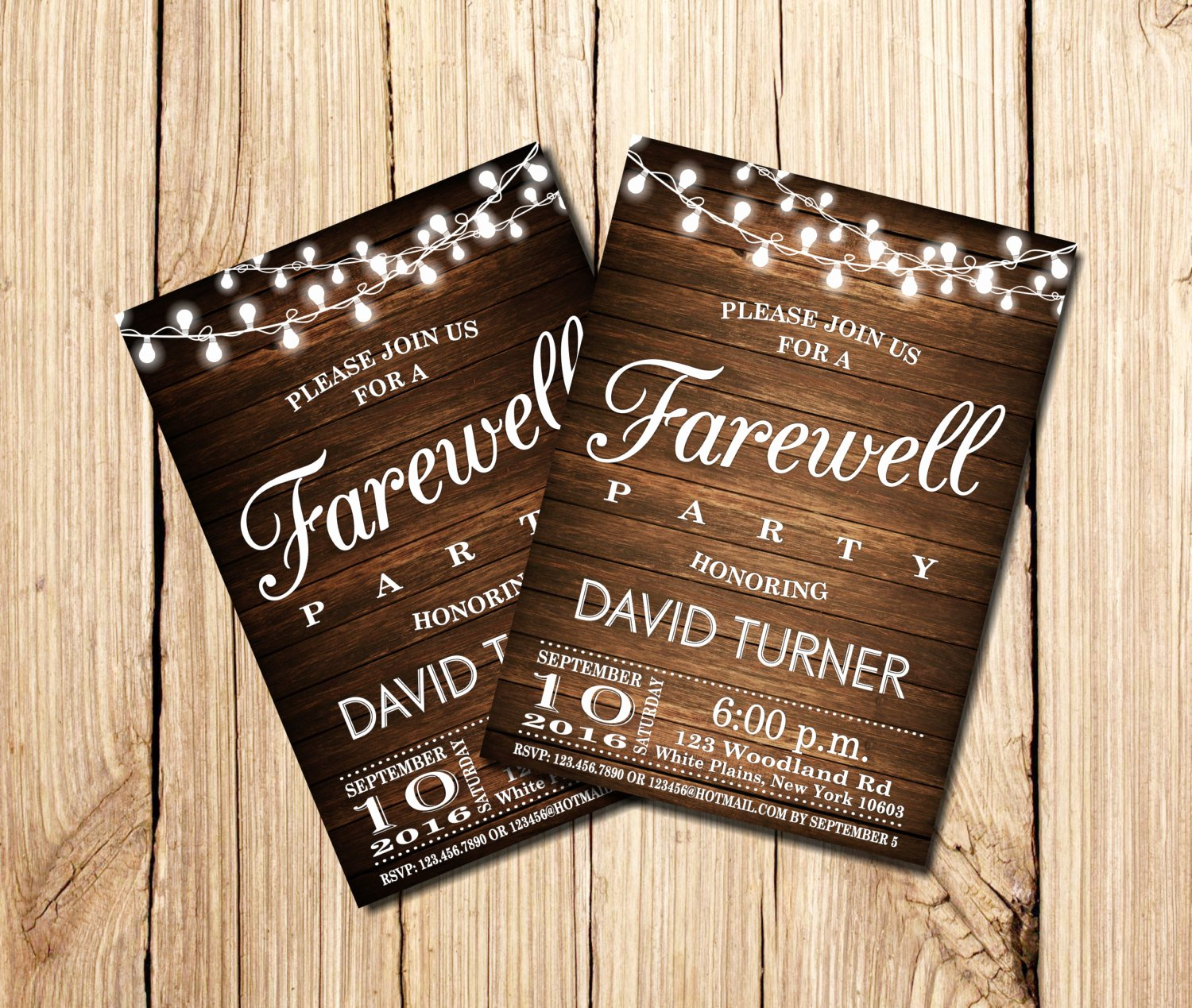 Farewell Party Invitations Templates Awesome Farewell Party Invitation Farewell Invitation Rustic