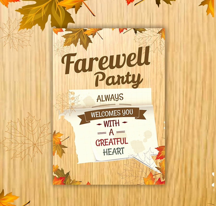 Farewell Party Invitations Templates Beautiful 40 Invitation Templates Free Psd Vector Eps Ai