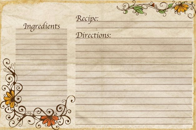 Fillable Recipe Card Template Unique Aletheia Free Recipe Cards Made by Yours Truly