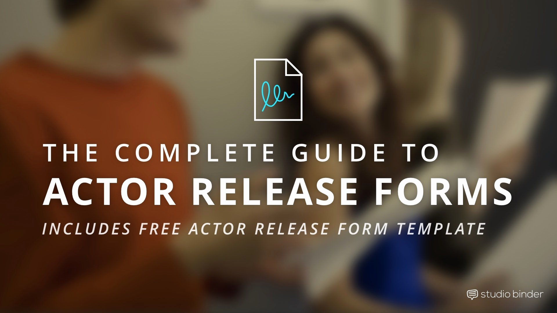 Film Release forms Templates Best Of the Plete Guide to Actor Release forms Free Template