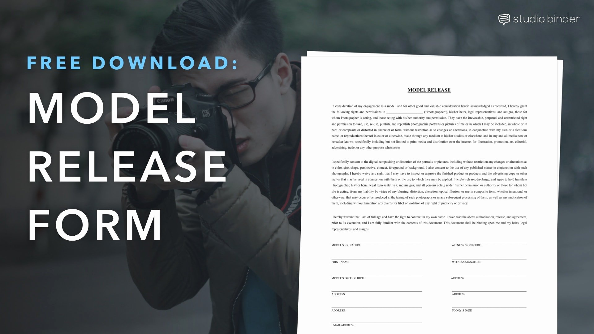Film Release forms Templates Lovely Download A Free Model Release form Template