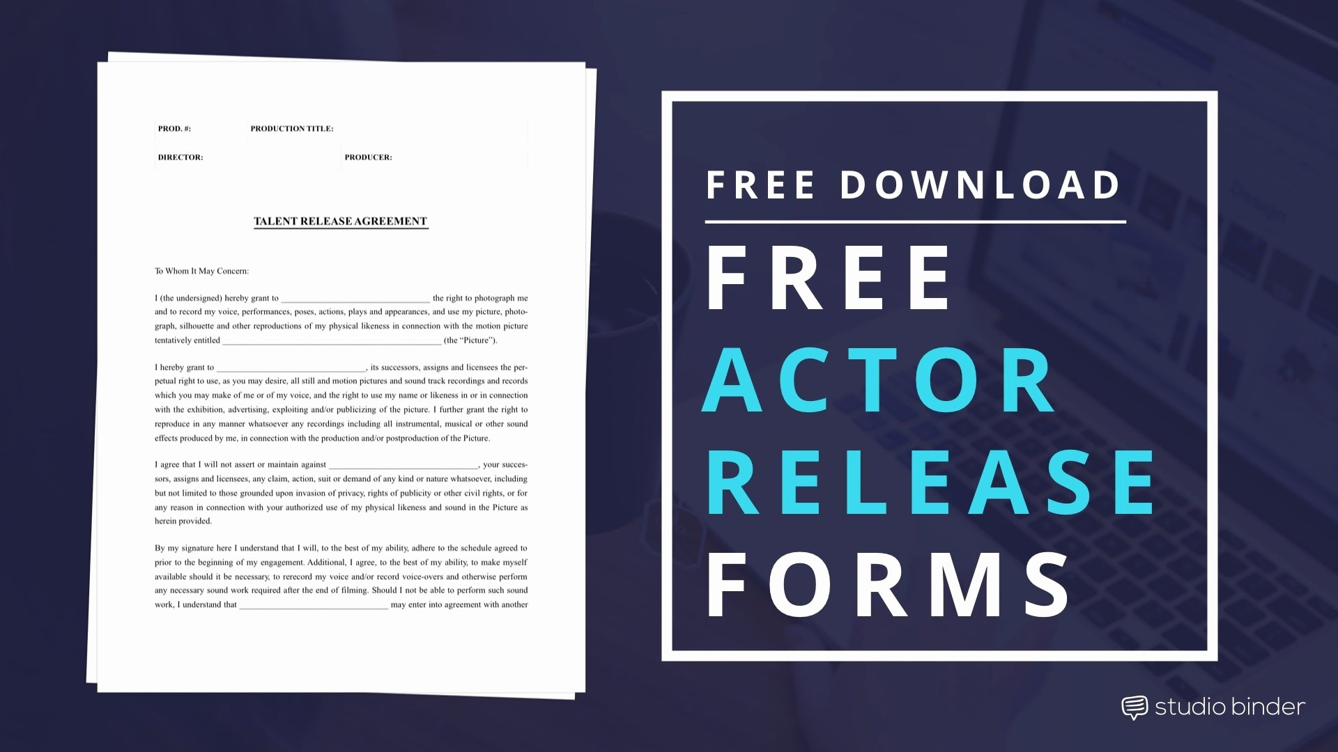 Film Release forms Templates Luxury Download Free Actor Release form Template