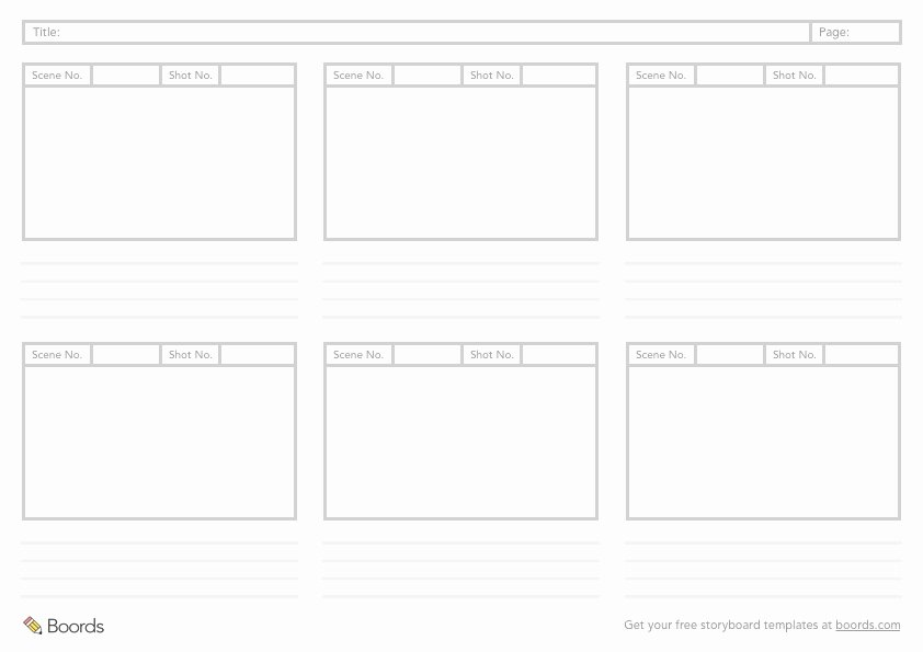 Film Storyboard Template Pdf Awesome 40 Free Storyboard Templates Pdf Psd Word & Ppt