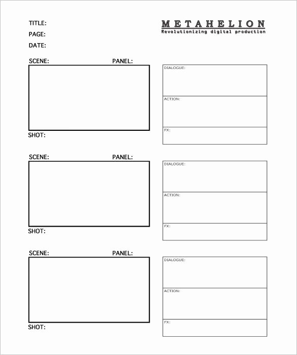 Film Storyboard Template Pdf Awesome Image Result for Tv Storyboard