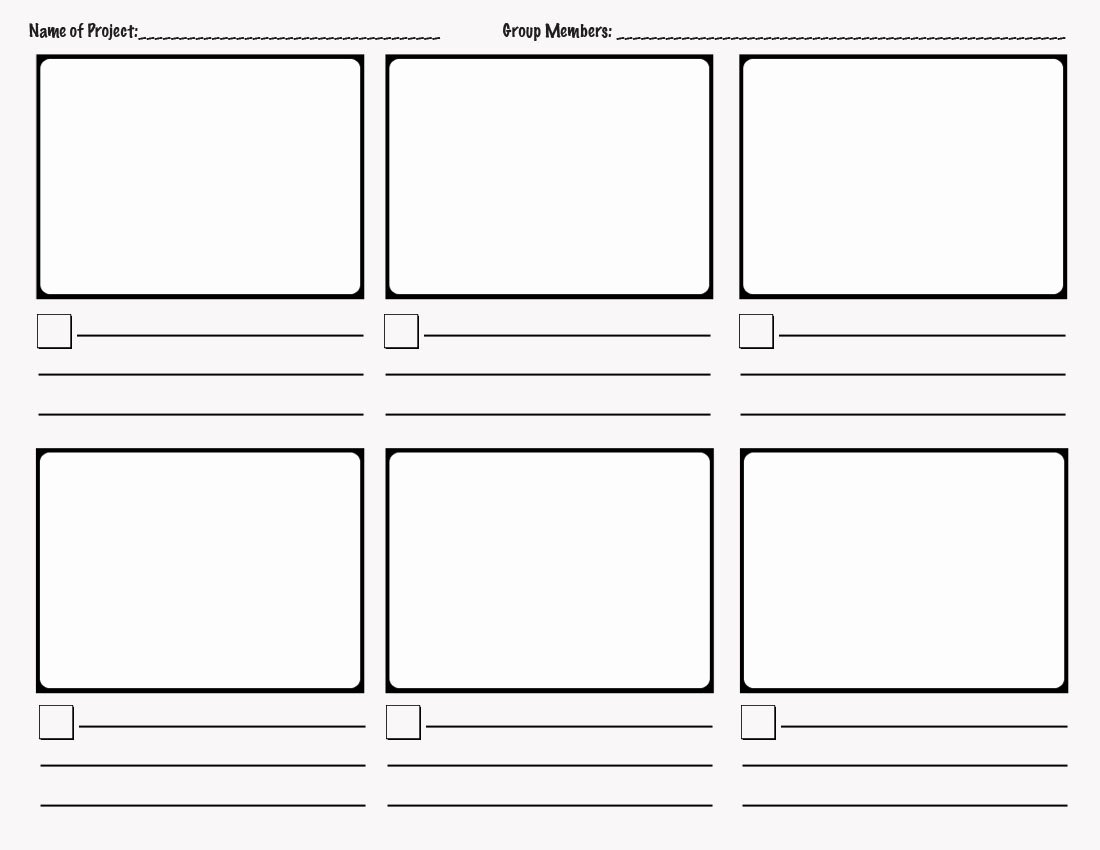 Film Storyboard Template Pdf Awesome Interpreting Narrative the Great Gatsby Storyboarding