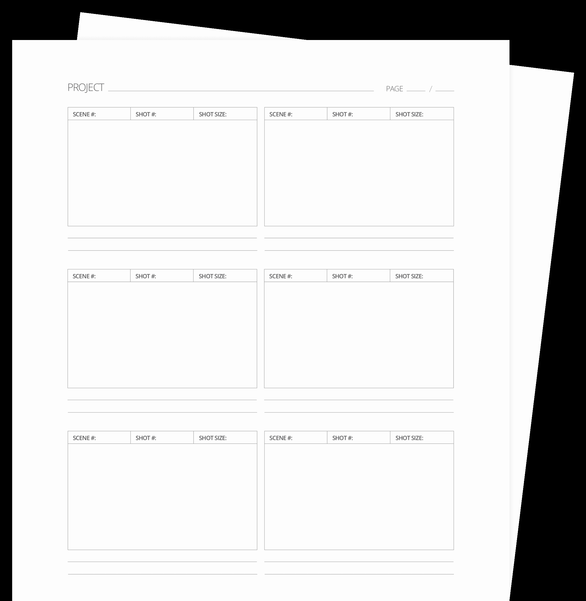 Film Storyboard Template Pdf Beautiful 60 Free Storyboard Templates & Creator Pdf Psd Ppt Docx
